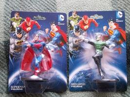 DC COMICS SUPERMAN GREEN LANTERN FIGURINE Cake Toppers Monogram Figurine... - $8.99