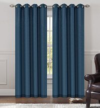 Urbanest 54-inch by 63-inch Tweed Set of 2 Sheer Drapery Curtain Panels ... - $27.71