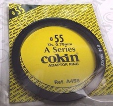 Genuine Cokin A Series 55mm Adapter Ring A455 F... - $8.72