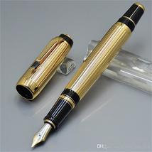 AAA Quality Bohemies Golden Ag925 Classic Fountain pen ink pens For Luxu... - $44.99