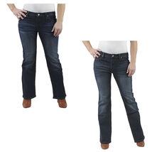 Tommy Girl Hilfiger Women's Petite Boot Cut Jeans Dark Wash - $16.99