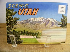 Utah Souvenir Postcard Folder Vintage - $6.99