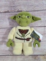 "Star Wars Plush Lego Yoda Stuffed Animal Manhattan Toy Company 10.5"" 2019  - $24.24"