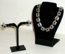 Napier signed necklace & earrings  - $9.95