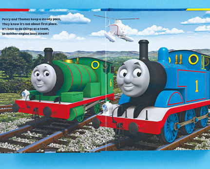 Thomas & Friends Book & Figure Set New