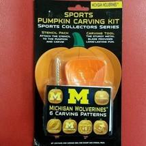 NCAA Michigan Wolverines Pumpkin Carving Kit - $16.65