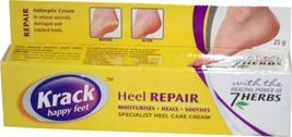 Krack Cream | For rough & cracked heels, chapped hands, fissures & chilb... - $9.99