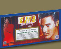 Elvis American Legends $2 Bill Uncirculated