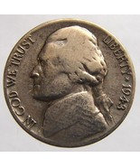 Vintage over 65 years old US 1943 Wartime Jefferson nickel Silver 5 Cent... - $95,42 MXN
