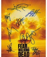 Fear The Walking Dead In-Person AUTHENTIC Autographed Cast Photo COA SHA... - $350.00