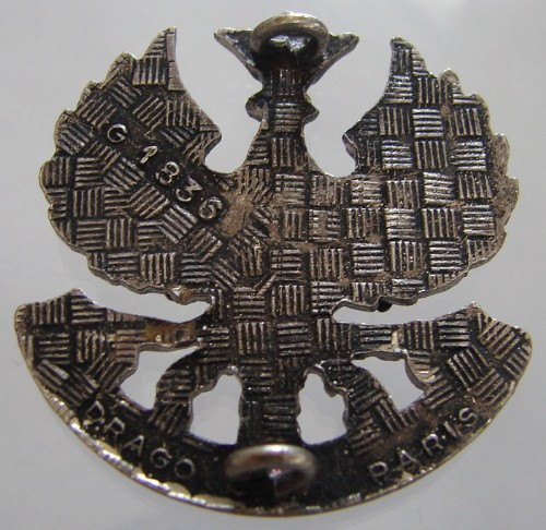Vintage FRANCE MILITARY Forces C.I.S.M.2 Training Center Badge Brooch Pin
