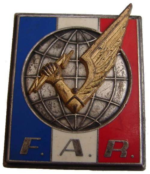 Vintage FRANCE MILITARY BROOCH Forces insignia Rapid Action Force corps Badge Pi