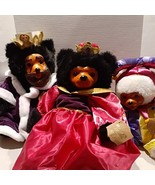 Vintage Raikes Bears Royal Court Collection Hand Made King William Queen... - $296.99