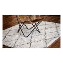 Amala Flokati Style Moroccan Shag Rug - 4 x 6 West Style Elm Restoration - $225.72