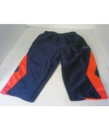 Reebok 18M Workout Pants Blue/Orange - $9.99