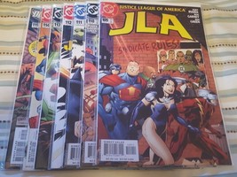 JLA (justice league of america) #109, 110, 111, 112, 113, 114, 115, - $16.00