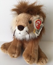 "Ty Classic 2006 Regent Lion Plush Beanie Stuffed Animal 10"" Soft Toy w/ Tag - $12.86"
