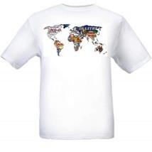 World Beer Map T Shirt S M L XL 2XL 3XL 4XL 5XL - $16.99+