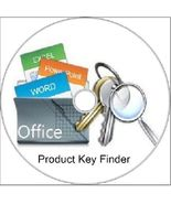 Product Key Finder for Microsoft Office Windows 7, Vista, XP & Windows 8.1 - $7.50