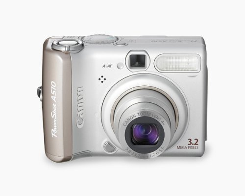 Canon PowerShot A510 3.2MP Digital Camera with 4x Optical Zoom