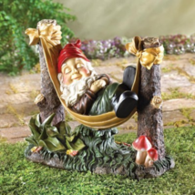 Slumbering Gnome Statue - $24.70