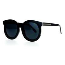 Womens Fashion Sunglasses Oversized Round Horn Rim Arrow Design - $8.95