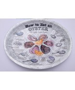 How to Eat an Oyster Plates for seafood festiva... - $19.99