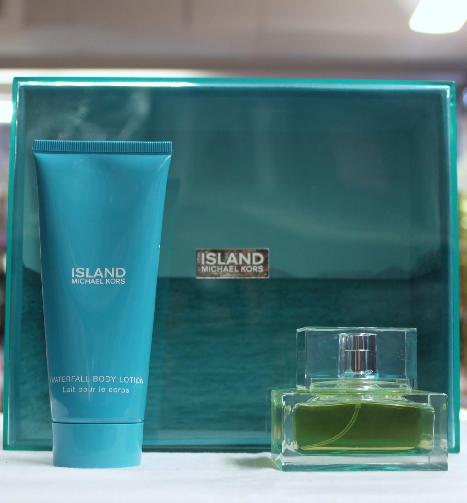 Island by Michael Kors 2PCs Women Set, 1.7 oz + 3.4 Body Lotion, Hard to find