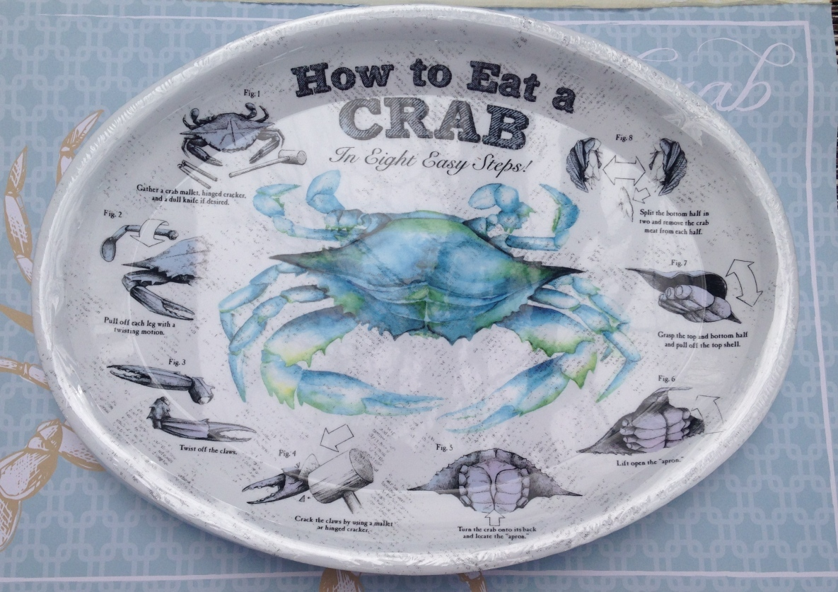 How to Eat a Crab for beach parties, rehearsal dinners, seafood festivals, clam