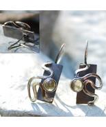 Yellow Tourmaline Sterling Silver Earrings - $200.00