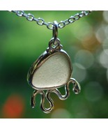 Grey Sea Glass Critter Pendant - $150.00