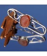 Brown Sea Glass Sterling Silver Barrette - $280.00