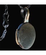 UV Sea Orb - Sea Glass Pendant with 14K Gold Overlays - $300.00