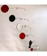 Red and Black Stained Glass Mobile - $175.00
