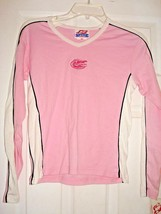 8.NCAA Florida Gators Girl's Juniors Pink Embroidered Logo Long Sleeve Shirt New - $15.00