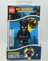 DC Super Heroes Catwoman Figure LED LITE Key Light Keychain 2013 LEGO NE... - $9.70
