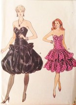 Vogue Pattern 9893 SZ 6- 8-10 Strapless Prom Bu... - $17.99