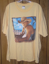 Kenny Chesney Concert Tour T Shirt Vintage 2004 Guitars Tiki Bars - $64.99