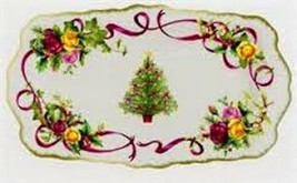 Royal Albert Old Country Roses Christmas Tree S... - $36.47