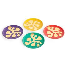 Jonathan Adler Designer Porcelain Amoeba Coaster Set - $72.93