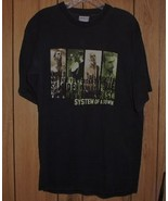 System Of A Down Concert Tour T Shirt Vintage 2001