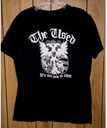 The Used Concert Tour T Shirt 2002 It's Our Time To Shine - $34.99