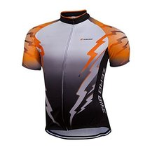 ZEROBIKE® Men's Cycling Short Sleeve Jersey Comfortable Breathable Shirt... - $16.82