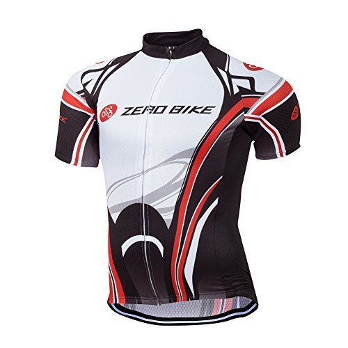 Primary image for ZEROBIKE® Men's Cycling Short Sleeve Jersey Comfortable Breathable Shirts...