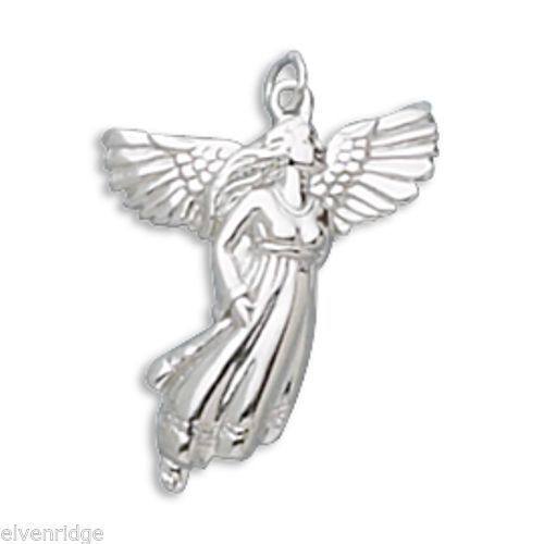 Angel Pendant Sterling Silver