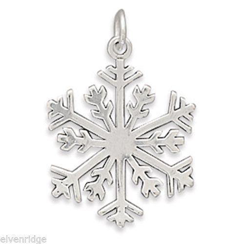 Snowflake Pendant Sterling Silver