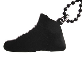 Good Wood NYC Taxi 12 Sneaker Necklace White/Black Shoe XII image 2