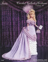 1876 Debutante Ball Gown for Barbie Paradise #38 Crochet PATTERN (NO DOLL) NEW - $7.17