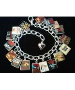 STEPHEN KING Book Charm Bracelet 17 Classic Ste... - $23.99