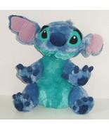 Walt Disney World Lilo  Stitch Plush  Blue Soft Cuddle Bean Bag - $49.95